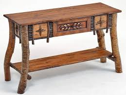 artistic birch bark sofa table bark furniture