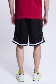 <b>Шорты URBAN CLASSICS Stripes</b> Mesh Shorts Black-Black-White ...