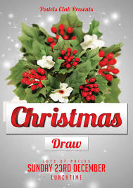 craig barrett christmas draw poster christmas draw poster