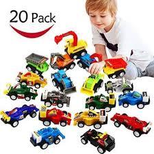 Generic Pull Back <b>Car</b>, <b>20 Pcs</b> Assorted Mini Truck <b>Toy</b> and Race ...
