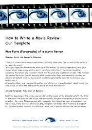 how to write an essay about a film resume formt cover letter how to write an essay about a movie