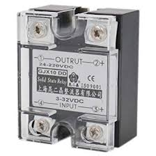 Baomain <b>SSR</b>-10DD 10A Signal Phase <b>Solid State Relay DC</b> 3-32V ...