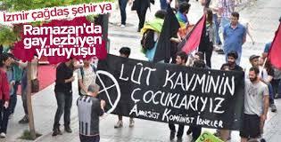 LGBT İzmir'de yürüyüş düzenledi