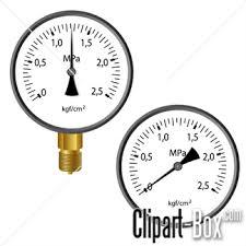 CLIPART PRESSURE GAUGE