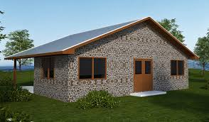 Cordwood House Plan   Natural Building BlogThis cordwood house could be built   earthbags  straw bales or other sustainable materials