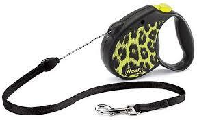 Поводок-<b>рулетка Flexi Safari</b> M, трос, для средних собак до 20 кг ...