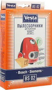<b>Vesta</b> filter BS 02 <b>комплект пылесборников</b>, 5 шт + фильтр ...