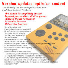POWKIDDY A19 Pandora's Box Android <b>supretro</b> handheld game ...