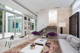 living room florida  modern living room purple chairs minimalism florida luxury dream home