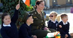Image result for children with irish flag