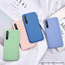 <b>Candy TPU</b> Case For Oppo Realme C11 C3 Case Carbon Fiber ...