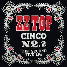 ZZ Top : Cinco No2 – The Second Five LP's - VVVOID Creative