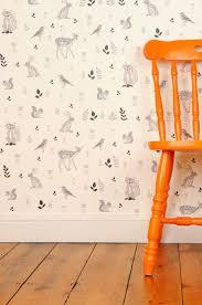 Orange Bedroom Wallpaper 17 Best Ideas About Nursery Wallpaper On Pinterest Baby Nursery