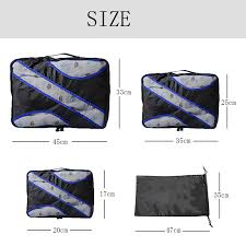 <b>QIUYIN</b> Clothing Sorting Organize <b>Bag</b> Nylon Packing Cube Travel ...