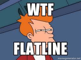 Wtf Flatline - Futurama Fry | Meme Generator via Relatably.com