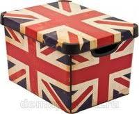 «<b>Кофр для хранения</b> мелочей Curver British flag 04711-D99 ...
