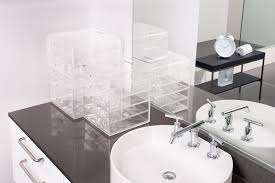 plastic makeup organizer put bathroom: as seen on tv not available in stores
