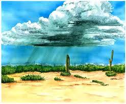 Resultado de imagen para lluvia en el desierto
