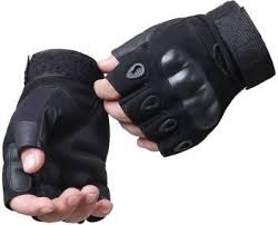 LALA LIFE <b>Half Finger</b> Hard Knuckle Motorcycle Military Tactical ...