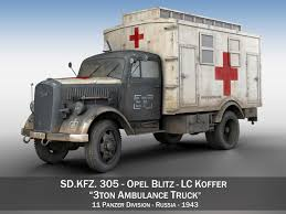 ambulance 3d models 3d ambulance files cgtrader com opel blitz 3t ambulance truck 11 pzdiv 3d