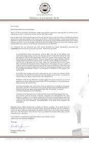 clark atlanta university letter to students