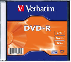 Купить CD DVD <b>диск Verbatim DVD</b>-<b>R 4.7Gb</b> 16x Slim case, 1шт в ...