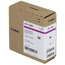 <b>Canon</b> Genuine <b>Canon</b> Ink Tank <b>PFI</b>-<b>110M</b> - <b>Magenta 160ml</b> ...