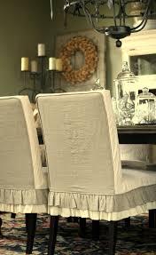 Linen Dining Room Chair Slipcovers Slipcovers Design Ideas 10 Elegant Slipcovers For Dining Room