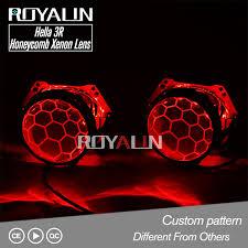 Online Shop <b>ROYALIN Hella</b> 3R G5 Honeycomb Bixenon Projector ...