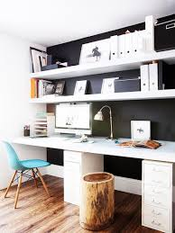 9 tips for beautiful organization black and white office with white magazine files black and white office