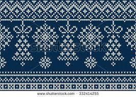 Christmas and <b>New Year</b> Knitting <b>Pattern</b>. Winter Holiday Seamless ...