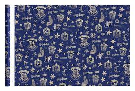 <b>Упаковочная бумага ND Play</b>. Harry Potter (синяя), 2 шт в рулоне