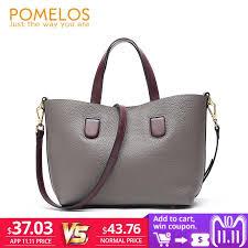 2019 Fashion <b>POMELOS Women Bag Luxury</b> Brand Purses And ...