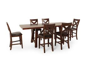 seven piece dining set: winners only kingston seven piece tall dining set