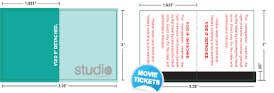 amlon industries tickets movie ticket samples