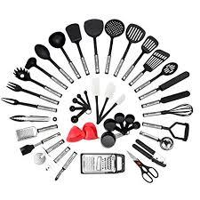 NEXGADGET <b>Kitchen</b> Utensil Set - 42-Piece <b>Cooking Utensils</b>