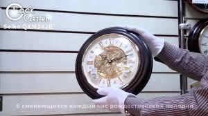 <b>Настенные часы Seiko</b> QXM342B - YouTube