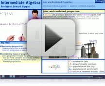 Intermediate Algebra Homework Help Video and Interactive Problems     Thinkwell