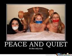 Peace And Quiet by zakyboy - Meme Center via Relatably.com
