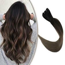 eBay #Sponsored <b>Full Shine</b> Sew in Hair Extensions <b>Ombre</b> Color ...
