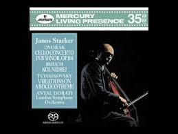 Janos Starker (<b>cello</b>) plays <b>Dvořák</b>, <b>Bruch</b>, Tchaikovsky; Dorati ...