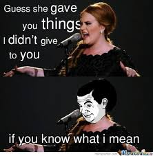 15 Hilarious Adele Memes That Almost Broke The Internet - Time To ... via Relatably.com