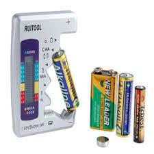 aa aaa 1.5v 9v digital <b>battery tester universal</b> battery capacity tester ...
