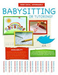 babysitter tutor flyer stephanie kurtz flickr 11c88cf07a16dfbcaacfd4ca36654744 babysitter tutor flyer by 11c88cf07a16dfbcaacfd4ca36654744