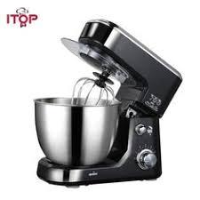 <b>ITOP</b> ELectric Black Red 4L <b>Food Mixers</b> Kitchen Mixer Machine ...