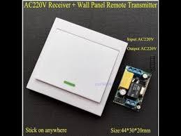 <b>WiFi Remote</b> Control Switch AC 220V Receiver <b>Wall Panel Remote</b> ...