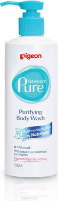Pigeon <b>Нежный гель для купания</b> Newborn Pure Purifying Body ...