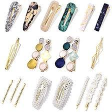 20Pcs <b>Pearl</b> Hair Clips - Cehomi Fashion <b>Korean Style Pearls</b> Hair ...