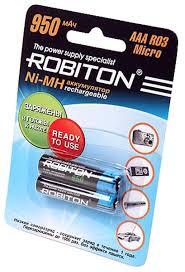 <b>аккумулятор Robiton</b> 950 mAh R03/<b>AAA</b> RTU-2BL по самой ...