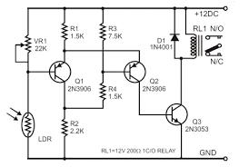 ldr circuit diagram relay ireleast info ldr circuit diagram relay nest wiring diagram wiring circuit